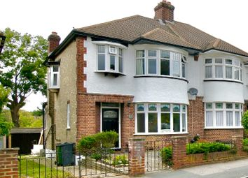 Thumbnail 3 bed semi-detached house for sale in The Avenue, London