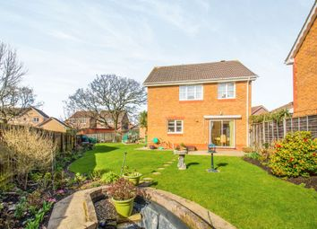Thumbnail 4 bed detached house for sale in Matthysens Way, St. Mellons, Cardiff
