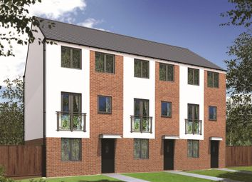 "Thumbnail 3 bed town house for sale in ""The Dartford "" at Sir Bobby Robson Way, Newcastle Upon Tyne"