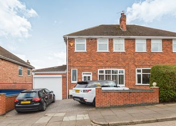 Thumbnail 3 bed semi-detached house for sale in Dersingham Road, Leicester