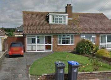 Thumbnail 1 bed semi-detached bungalow to rent in Lingfield Close, Worthing