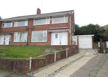 Thumbnail 4 bed semi-detached house to rent in Richmond Close, Whitefield, Manchester