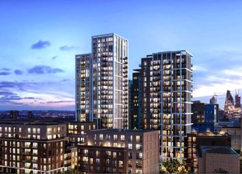 Thumbnail 2 bed flat for sale in Silk District, London