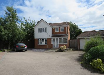 Thumbnail 4 bed detached house for sale in Savill Close, Northampton