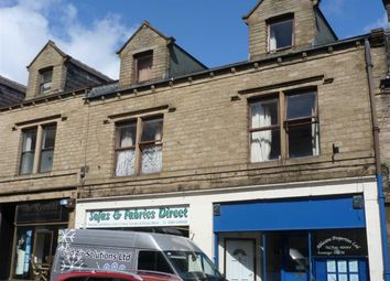 Thumbnail 1 bedroom flat to rent in Market Street, Milnsbridge, Huddersfield