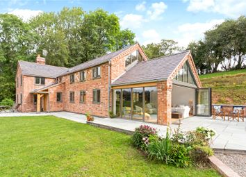 Thumbnail 4 bedroom detached house for sale in Sandy Lane, Hanmer, Whitchurch, Shropshire