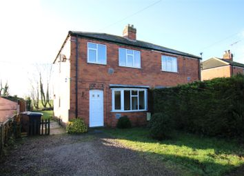 Thumbnail 3 bedroom semi-detached house for sale in College Road, Cranwell Village, Sleaford