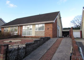 Thumbnail 2 bed semi-detached house for sale in Hendre Road, Pencoed, Bridgend.