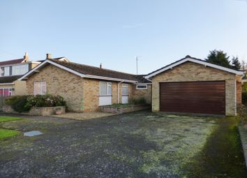Thumbnail 4 bed detached bungalow for sale in School Road, West Walton, Wisbech