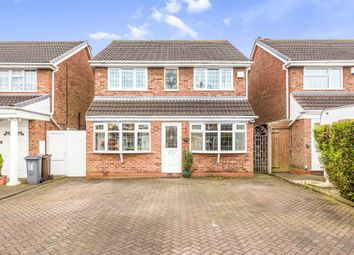 Thumbnail 4 bedroom detached house for sale in Poplars Drive, Castle Bromwich, Birmingham