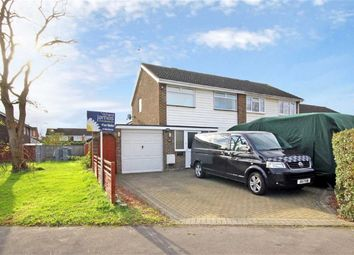 Thumbnail 3 bed semi-detached house for sale in Christie Close, Swindon, Wiltshire
