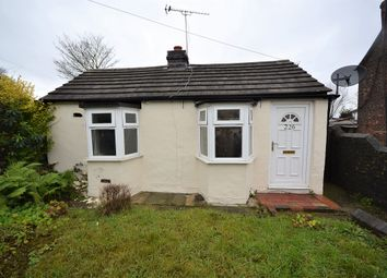 Thumbnail 2 bed detached bungalow for sale in Congleton Road, Talke, Stoke-On-Trent