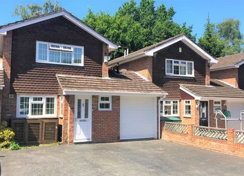 Thumbnail 3 bed detached house for sale in Elizabeth Avenue, Bagshot, Surrey