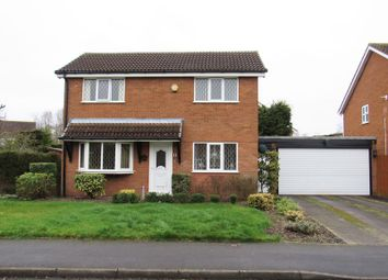 Thumbnail 3 bed detached house for sale in Caldeford Avenue, Monkspath, Solihull