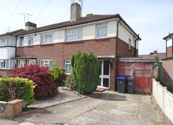 Thumbnail 3 bed end terrace house for sale in Turner Road, Worthing, West Sussex
