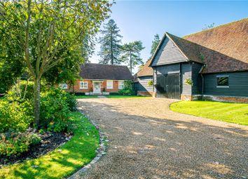 4 bed link-detached house for sale in Hassobury, Farnham, Bishop's Stortford CM23