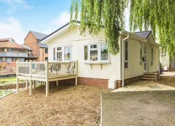 Thumbnail 1 bedroom bungalow for sale in Millside Marina, Mill Road, Buckden, St. Neots