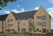 Thumbnail 2 bedroom flat for sale in The xxx At St James Park, Off Cam Drive, Ely