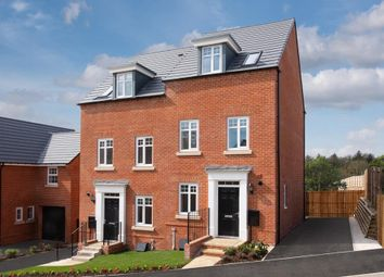 "Thumbnail 3 bedroom semi-detached house for sale in ""Greenwood"" at Harlequin Drive, Worksop"