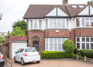 Thumbnail 4 bed semi-detached house for sale in Rodmell Slope, North Finchley, London