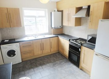 Thumbnail 5 bed terraced house to rent in Hall Road, Manchester