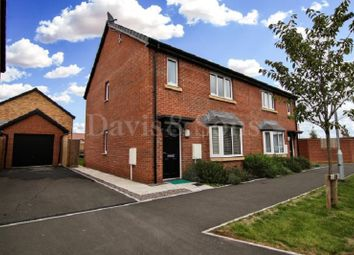 Thumbnail 3 bed semi-detached house for sale in Cold Mill Road, Glan Llyn, Newport .