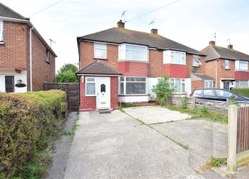 Thumbnail 3 bed semi-detached house for sale in Second Avenue, Sheerness, Kent