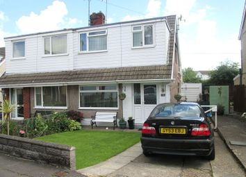 Thumbnail 3 bed semi-detached house for sale in Denver Road, Fforestfach, Swansea, City And County Of Swansea.