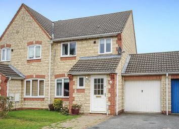 Thumbnail 3 bed semi-detached house for sale in Robins Way, Bicester