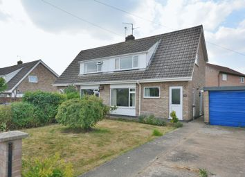 Thumbnail 3 bed semi-detached house for sale in Thonock Drive, Saxilby, Lincoln