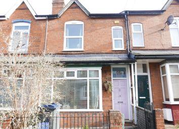 Thumbnail 3 bed terraced house for sale in Highbury Road, Kings Heath