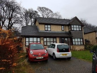 Thumbnail 5 bed detached house for sale in The Boundary, Bradford, West Yorkshire