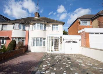 Thumbnail 3 bedroom semi-detached house for sale in Wykeham Hill, Wembley