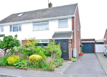 Thumbnail 3 bed semi-detached house for sale in Norris Close, Chiseldon, Swindon
