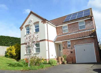 Thumbnail 4 bed detached house for sale in Barns Close, Bradninch, Exeter