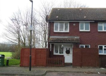 Thumbnail 1 bedroom end terrace house to rent in Chichester Close, London