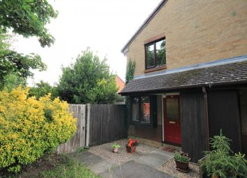 Thumbnail 1 bed end terrace house for sale in Bolwell Close, Twyford, Reading