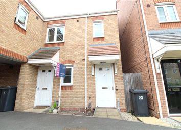 Thumbnail 2 bed flat for sale in Templar Drive, Nuneaton, Warwickshire