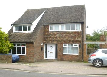 Thumbnail 3 bedroom detached house to rent in Canterbury Road, Lyminge, Folkestone