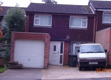Thumbnail 3 bed terraced house for sale in Tolchard Close Leicester, Goodwood Nr Genral Hospital