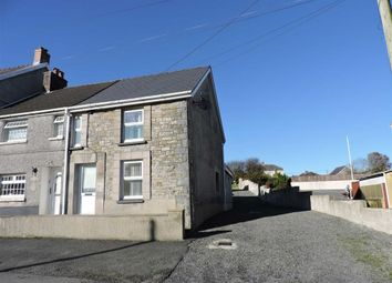 Thumbnail 3 bed end terrace house for sale in Norton Road, Penygroes, Llanelli