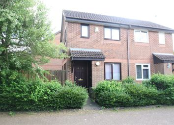 Thumbnail 1 bed semi-detached house for sale in Boxberry Gardens, Walnut Tree, Milton Keynes