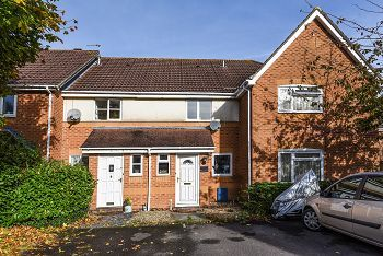 Thumbnail 2 bed terraced house for sale in Pampas Court, Warminster