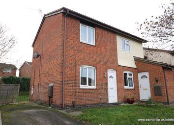 Thumbnail 2 bed semi-detached house to rent in Ashridge Drive, Putnoe, Bedfordshire