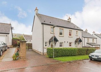 Thumbnail 3 bed semi-detached house for sale in Noddleburn Meadow, Largs, North Ayrshire