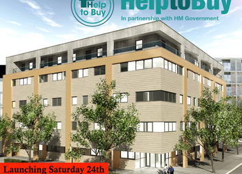 Thumbnail 2 bed flat for sale in Avebury Boulevard, Central Milton Keynes