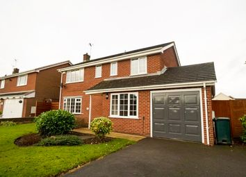 Thumbnail 4 bed detached house to rent in Vincent Drive, Chester