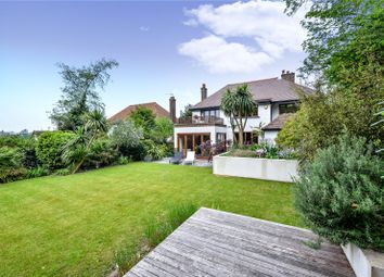 Thumbnail 4 bed detached house for sale in Hove Park Road, Hove, East Sussex