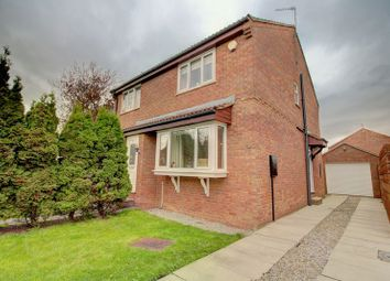 Thumbnail 2 bed semi-detached house for sale in Longwood Link, York