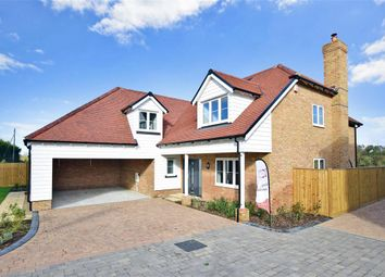 Thumbnail 4 bed detached house for sale in Faversham Road, Challock, Ashford, Kent